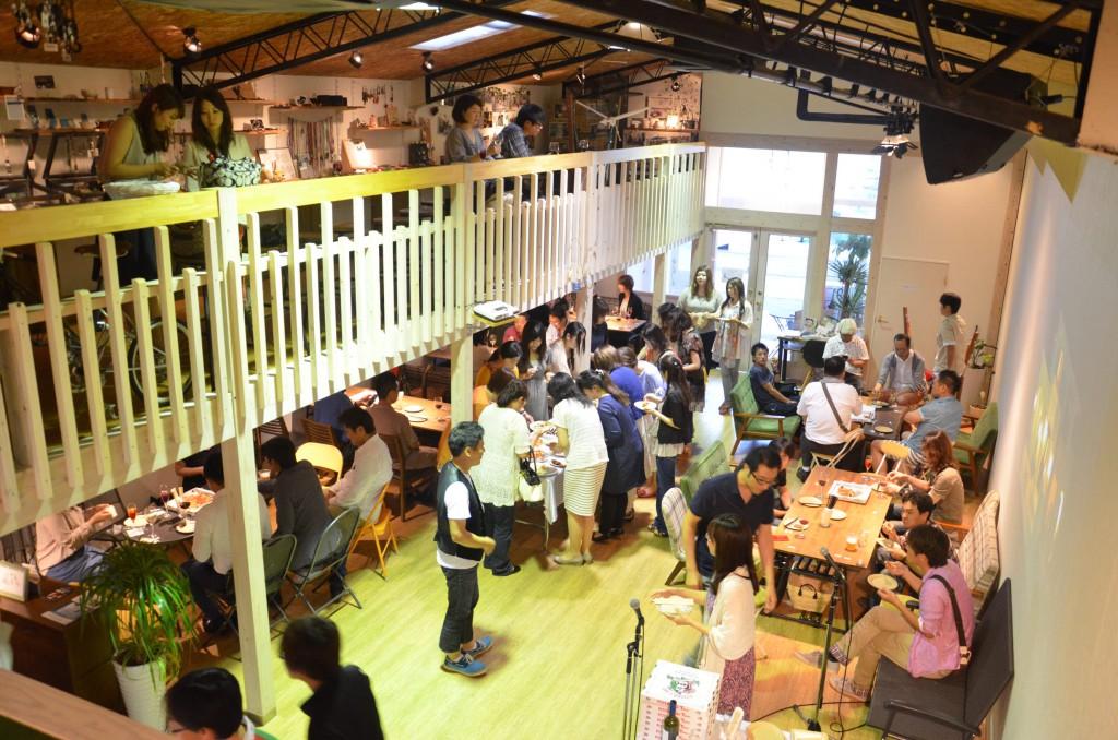 ジモト+「ワイン会」の模様 8月24日開催