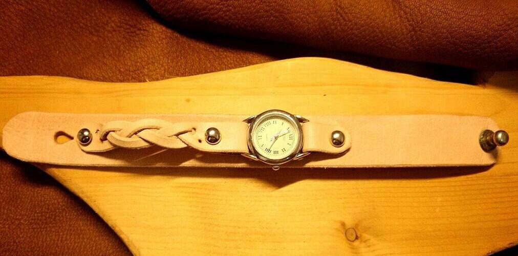 革あそび教室~X'masのプレゼントに世界でたった一つのブレス時計なんてどうよ!~