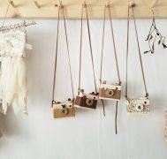 DIY木のカメラ親子教室